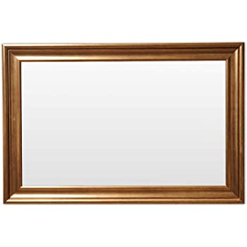 Frame N Art Decorative Hand Crafted Wooden Vanity Wall Mirror Glass for Living Room, Bathroom, Bedroom (CGC-70) (24 x 36)