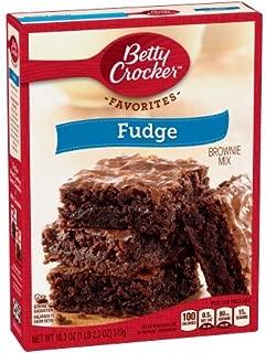 Betty Crocker Brownie Mix Fudge, 18.3 OZ(Pack of 1)