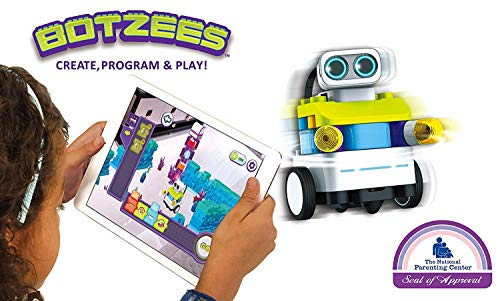 PAI TECHNOLOGY Botzees Building and Coding Robots for Kids with Puzzles, Augmented Reality Stem Toy,...