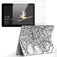 igsticker Surface Go/Surface Go 2 専用スキンシール ガラスフィルム セット 液晶保護 フィルム ステッカー アクセサリー 保護 050157