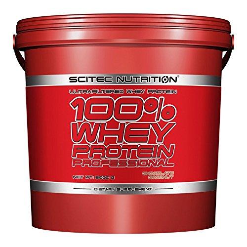 SCITEC Nutrition 100{e5f3260c2b693d29daa19e6b0dd9954343be18416ab26298abf24a6056e80e16} Whey Protein Professional - 5 kg Vainilla
