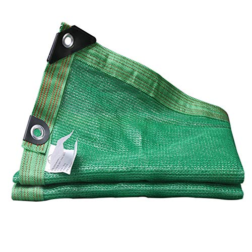 JLXJ Malla Sombra Tela Toldo Verde Paño de Sombra Plantas Red Solar con Ojal, Rectángulo Al Aire Libre 90% De Protección UV Tela de Vela para Invernadero/Marquesina/Refugio/Cenador
