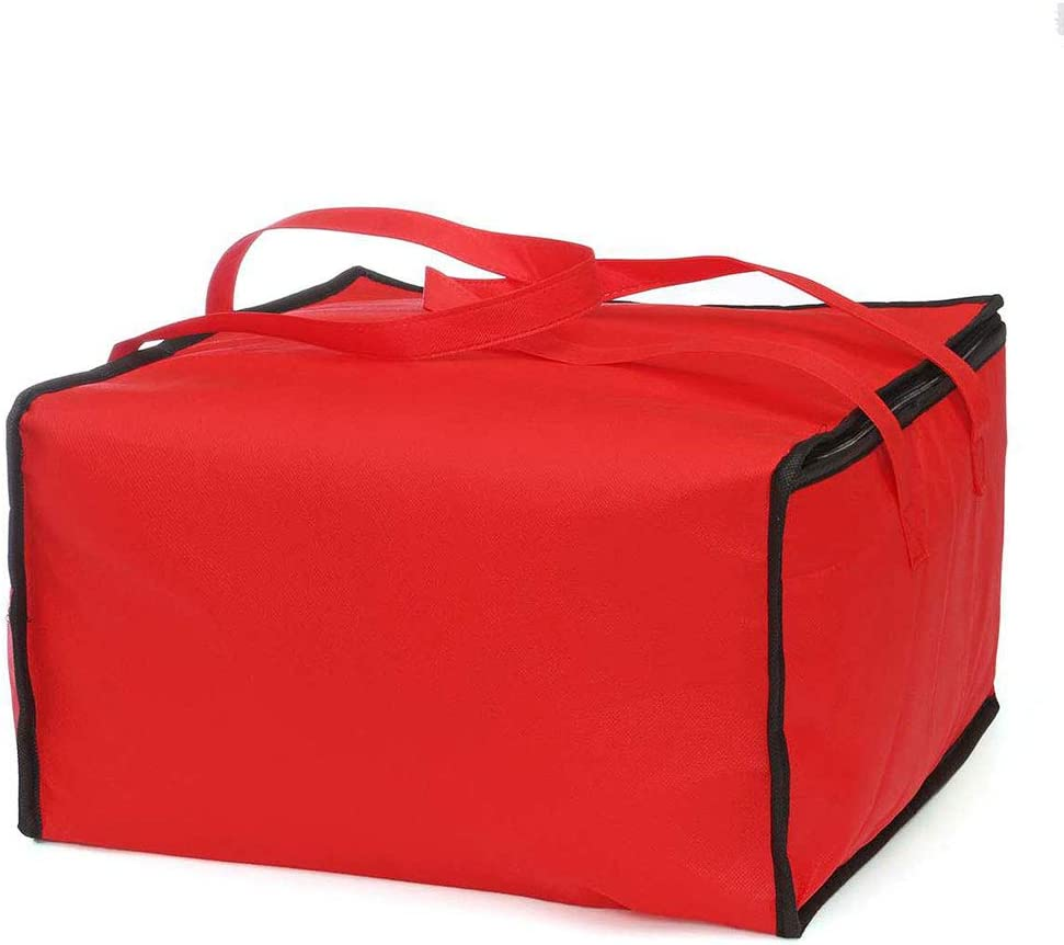 WMNRNYD Insulated Mail order Oakland Mall cheap Pizza Delivery Bag Reusa 19 Large Capacity ''