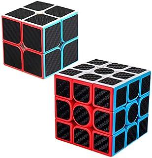 XMD 魔方 2x2 3x3 型 炭繊維キューブ 競技用 立体パズル 公式·WCA国際大会規格 脳トレ おもちゃ 对象年齢:6歳以上