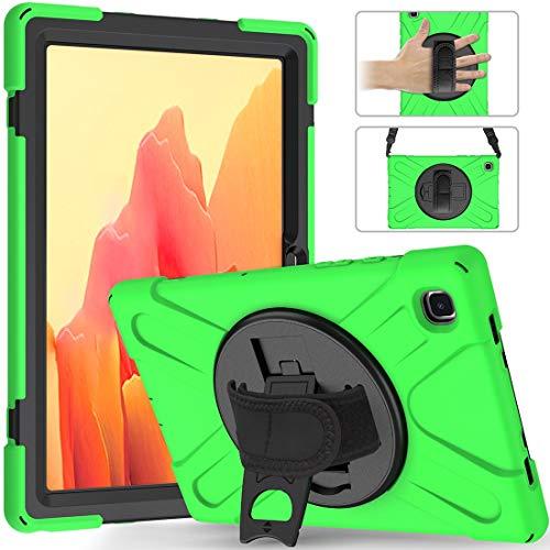 GUOQING Phone Case Pirate Series - Carcasa para Samsung Galaxy Tab A7 T500/T505 2020, a prueba de caídas, polvo, a prueba de golpes, rotación de 360 grados