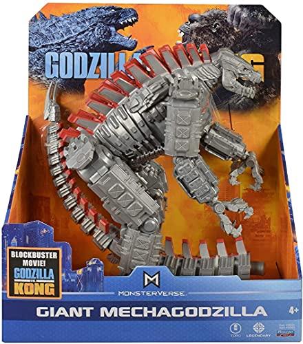 Monsterverse Godzilla vs Kong Giant Mechagodzilla, XL 11' Inches Tall, King Kong Toy Action Figure