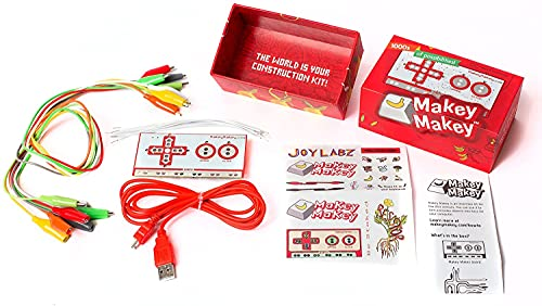 REES52 Makey Makey an Invention Kit for Everyone from JoyLabz - Hands-on Technology Learning Fun for Kids - STEM Toy - 1000s of Educational Engineering and Computer Coding Activities - Ages 8 and Up