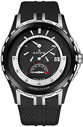 EDOX – Orologio da polso uomo Grand Ocean Regulator Data Analogico...