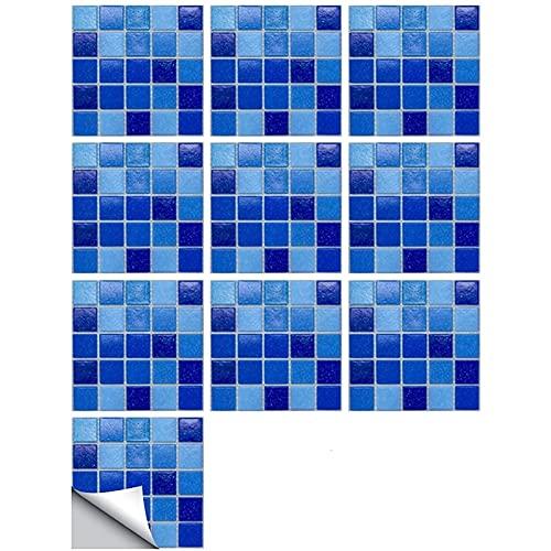 AHURGND 4 0PCS Creative Home Beautification 3D Tile Stickers, Transferencias de azulejos de piso a prueba de agua a prueba de agua BRICOLAJE Calcomanías de azulejos, para la decoración del hogar del b