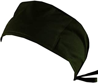 Mens and Womens Surgical Scrub Cap - Hunter Green