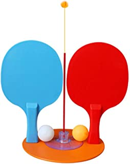 Fanct Table Tennis Single Training Device Sucker Ping Pong Trainer Practice Set