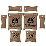 AIR NOUVEAU Charcoal Air Purifier Bags   EXTRA LARGE   8-pack   500g 200g 75g