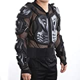 Motorcross Racing Motorcycle Body Armor tective Jacket Spine Back Gear Cool Sexy Black