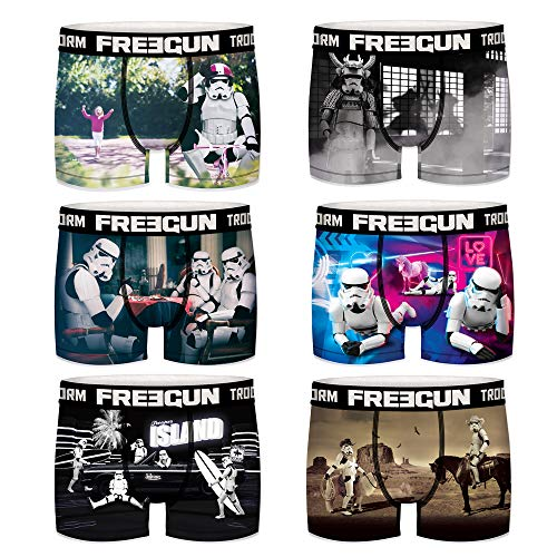 Freegun boxershorts heren Star Wars Darth Vader Stormtrooper, 6 stuks