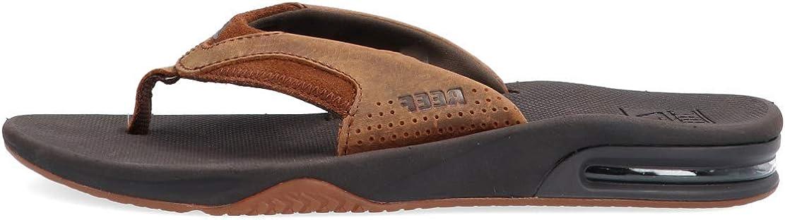 Reef ◆高品質 安心の定価販売 Men's Fanning Leather