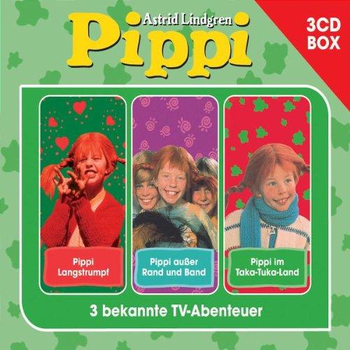 Pippi Langstrumpf 3-CD Hörspielbox (Box-Set)