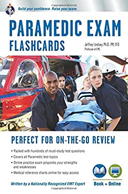 Paramedic Flashcard Book + Online (EMT Test Preparation) from Research & Education Association