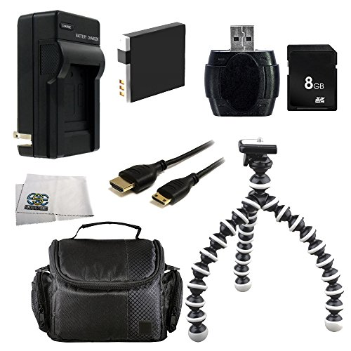 Deluxe Essential Accessory Kit for Canon PowerShot S120, SX170 is, SX260 HS, SX280 HS, SX500 is, SX510 HS, SX520 HS, SX530 HS, SX600 HS, SX700 HS, SX710 HS, ELPH 500 HS, D10, D20, D30