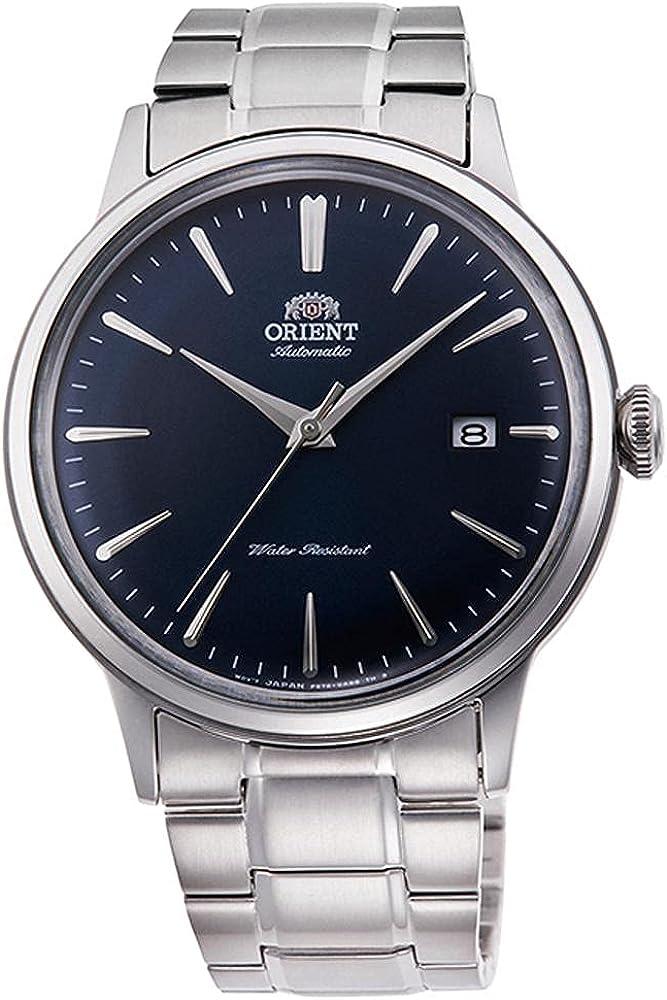 Orient Reloj Analógico para Unisex Adultos de Automático con Correa en Acero Inoxidable RA-AC0007L10B