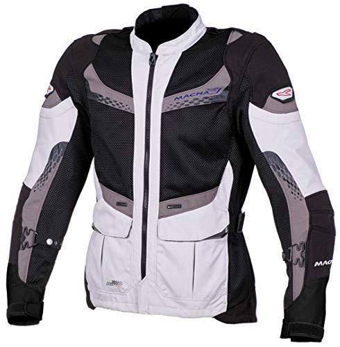 MACNA FURIO textiel jas h.grijs/zwart/taupe XL