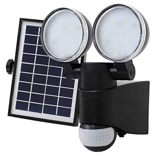 WEIMALL 人感センサーライト ソーラーライト LED 屋外 2灯式 昼光色
