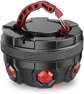LEDランタン警告灯電池式 非常信号灯 超軽量 IP6防水 長時間点灯可能 マグネット搭載 車&バイク/アウトドア/キャンプ/防災用品EREMOKI