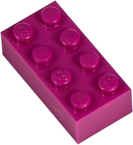 Q-Bricks 4 2-Stud Bausteine lose Pack (1000, lila)