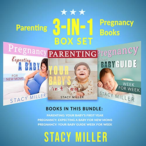 Parenting: Three-in-One Box Set Pregnancy Books audiobook cover art