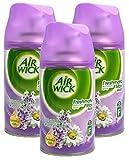 3x Airwick freshmatic Max automática spray Recambio Aroma De Lavanda Y Camomila 250ml cada