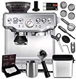 Breville BES870XL Barista Express Espresso Machine Brushed Stainless Steel + Manufacturer's Warranty...