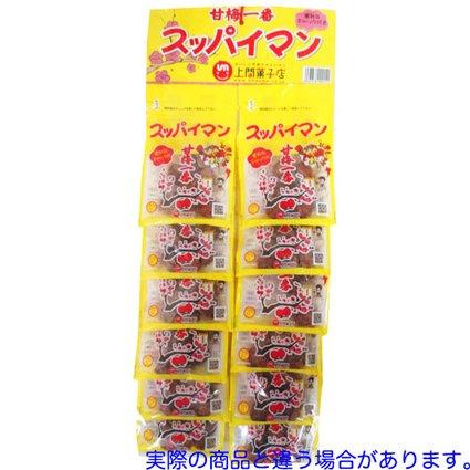 上間菓子店 17gスッパイマン甘梅一番台紙 12枚入