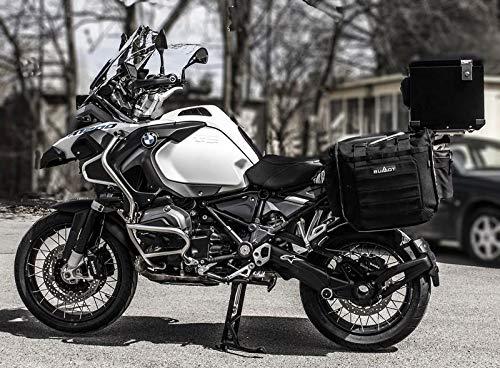 Bumot Xtremada zachte fietstassen voor Original BMW rekken van 850/1200/1250 GS
