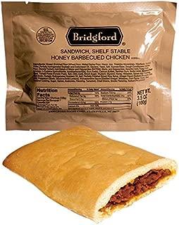 Bridgford Honey BBQ Chicken MRE Survival Food Storage Ready To Eat Meals - 3 Pack