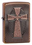 "Genuine Zippo windproof lighter with distinctive Zippo ""click"" All metal construction about 1 5 times as thick as a standard Zippo case windproof design works virtually anywhere Refillable for a lifetime of use for optimum performance we recommend ge..."