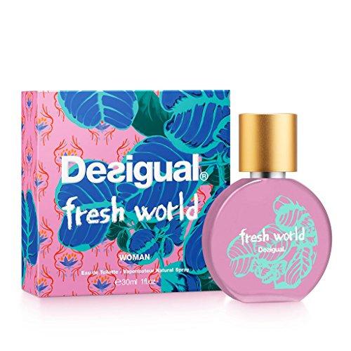 Desigual Parfum 07-1402000 Eau de Toilette Fresh World 30 ml