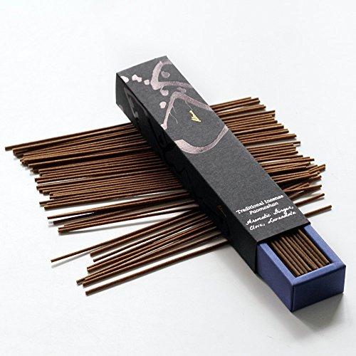 Paomashan: 100% natural varillas de incienso, basada en la planta pura, estilo japonés, sólida...