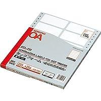 コクヨ ラベルファイル タックフォーム Y8XT10 12片 50枚 ECL-215 Japan