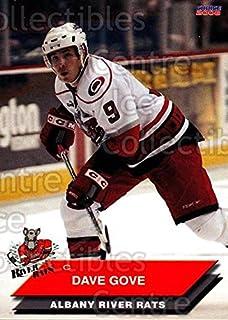 (CI) Dave Gove Hockey Card 2007-08 Albany River Rats 13 Dave Gove