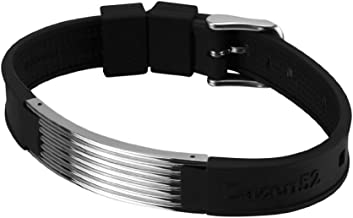 Zenturio Limited Titanium Wave Element Edition Exclusive Magnet/ion/Health Bracelet – TÜV Rheinland Germany Certified – for Your Health and Wellbeing