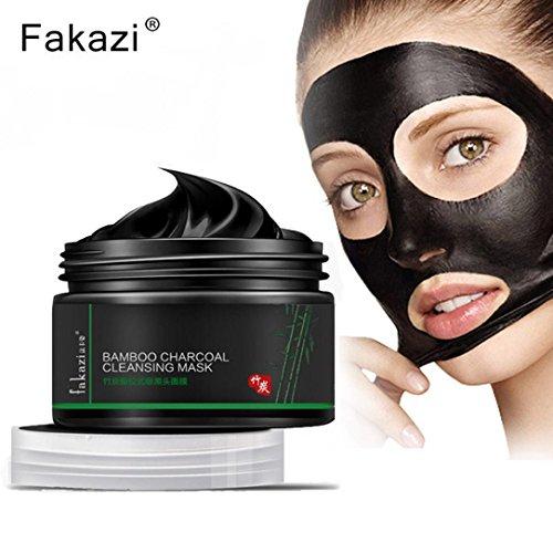 120g negro mineral barro Máscara Facial Limpieza en profundidad acné mitesser Entferner peelings Máscara Máscaras de lavado
