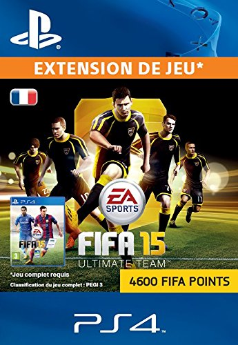 FIFA Points 4600 [Code Jeu PSN PS4 - Compte français]