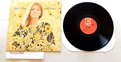 Judy Collins Wildflowers - dddd44 - Elektra Records 1967 - 1 Used Vinyl LP Record - 1969 Reissue Pressing EKS-74012 - Both Sides Now - Michael From Mountains - Priests - Albatross