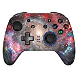 EasySMX Switch Controller, controller nintendo switch, Bluetooth Switch Controller,joystick switch Wireless, 6 Axis Switch Pro Controller con doppio motore integrato