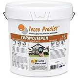 TERMOIMPER de Tecno Prodist - 15 Litros (BLANCO ÓPTICO) Pintura al agua...