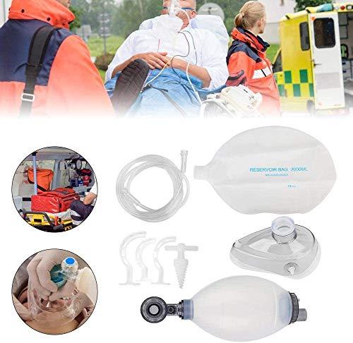 XIAOCUI PVC Adult Breathing Bag Manual Kit Werkzeug für einfaches Atem-Kit, Manuelles Sauerstoffgerät, Geeignet für Erwachsene und Kinder,Child