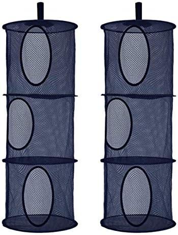 Libeder Stuffed Animal Storage Mesh Hanging Storage Space Saver Bags Organizer Foldable Storage product image
