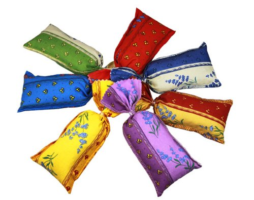 Lavendelsäckchen, 8 Stück gefüllt mit je 20 g Lavendel aus der französischen Provence