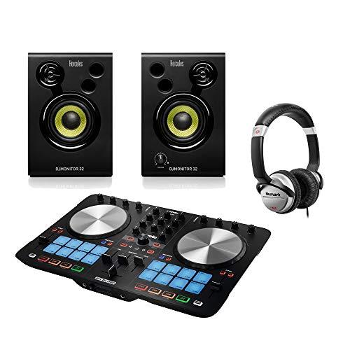 Reloop Beatmix 2 MK2 Serato DJ Controller inkl. Lautsprecher & Kopfhörer Set Disco