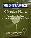 Red Star Cote des Blanc Wine Yeast, 5g - 10-Pack