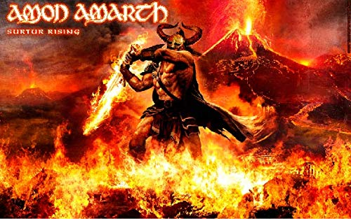 Musikposter Amon Amarth 35,6 x 58,4 cm Not A DVD